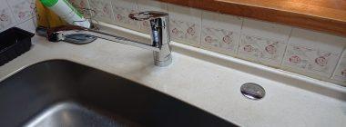キッチン浄水器撤去