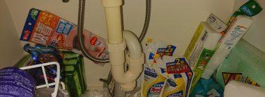 洗面所排水トラップ