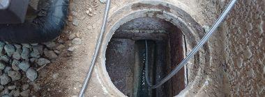 排水ます高圧洗浄